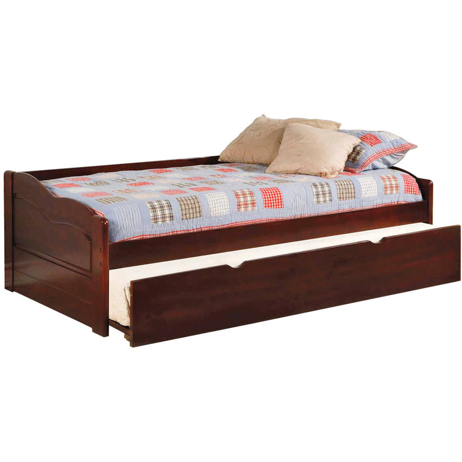 Sunset Daybed with Twin Trundle, Rich Cherry