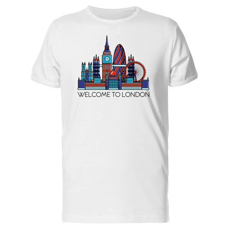 Big City Welcome To London Tee Men's -Image by (Big & Tall Londons Menswear London On)