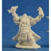 Reaper Miniatures Thain Grimthorn, Dwarf Cleric #77213 Bones D&D RPG Mini Figure
