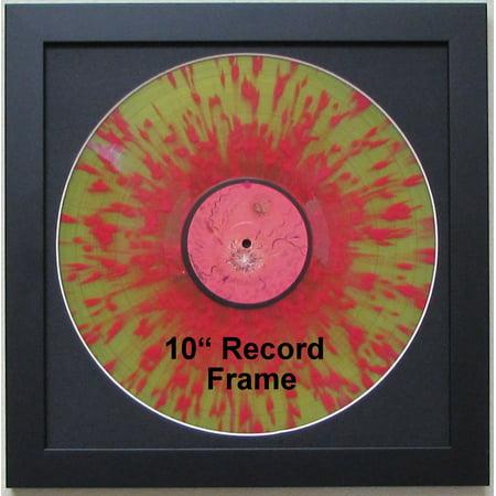 "Picture Disc / 12"" LP Vinyl Record Frame Display Black Matting (Black Frame)"
