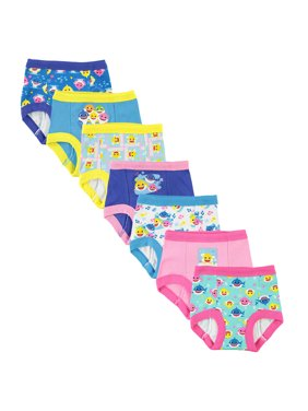 Baby Shark Training Pants, 7-Pack (Toddler Girls)