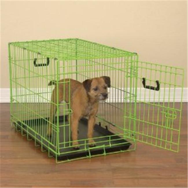 Pet Pals ZA911 24 43 Crate Appeal Color Crate Sm Lime Twist S