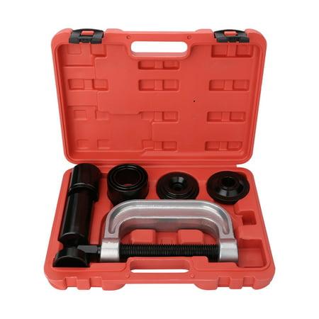 10PCS Ball Joint Press Tool Kit 2WD & 4WD Car Repair Remover Installer