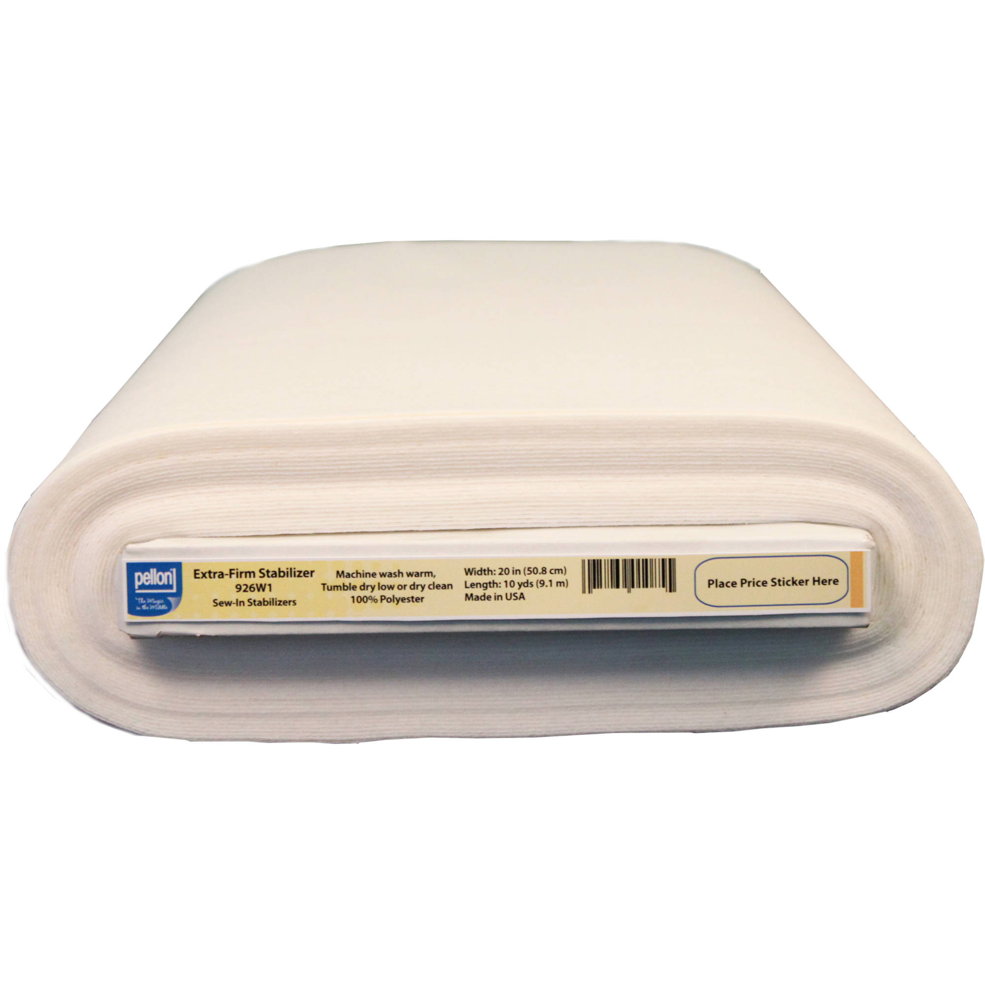"Pellon Extra Firm Sew-In Stabilizer, 20"" x 10 Yards"