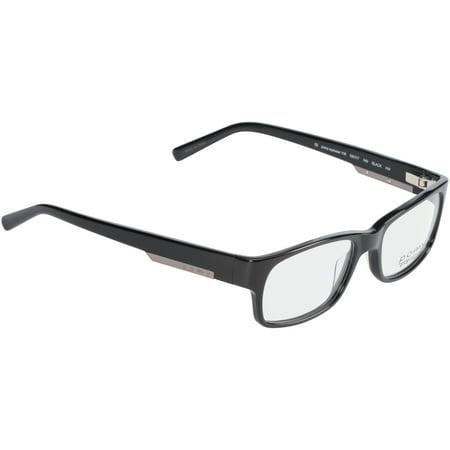 08fda4453a Pomy Eyewear Rx-able Eyeglass Frames 116 Black - Walmart.com