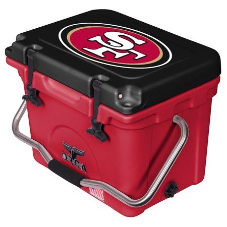 San Francisco 49ers ORCA 20-Quart Hard-Sided Cooler - Scarlet/Black - No (San Francisco Premium Outlets Stores)