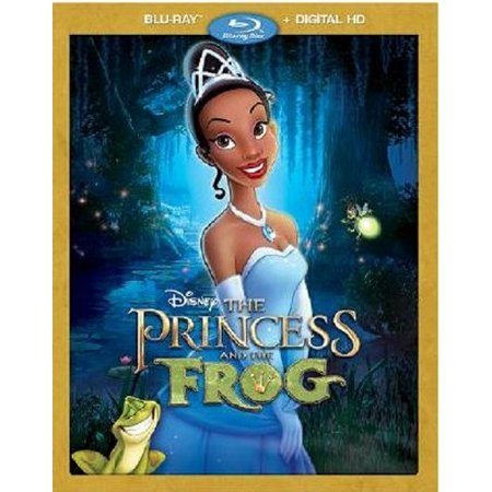 The Princess And The Frog (Blu-ray + Digital HD) (The Princess And The Frog The Shadow Man)