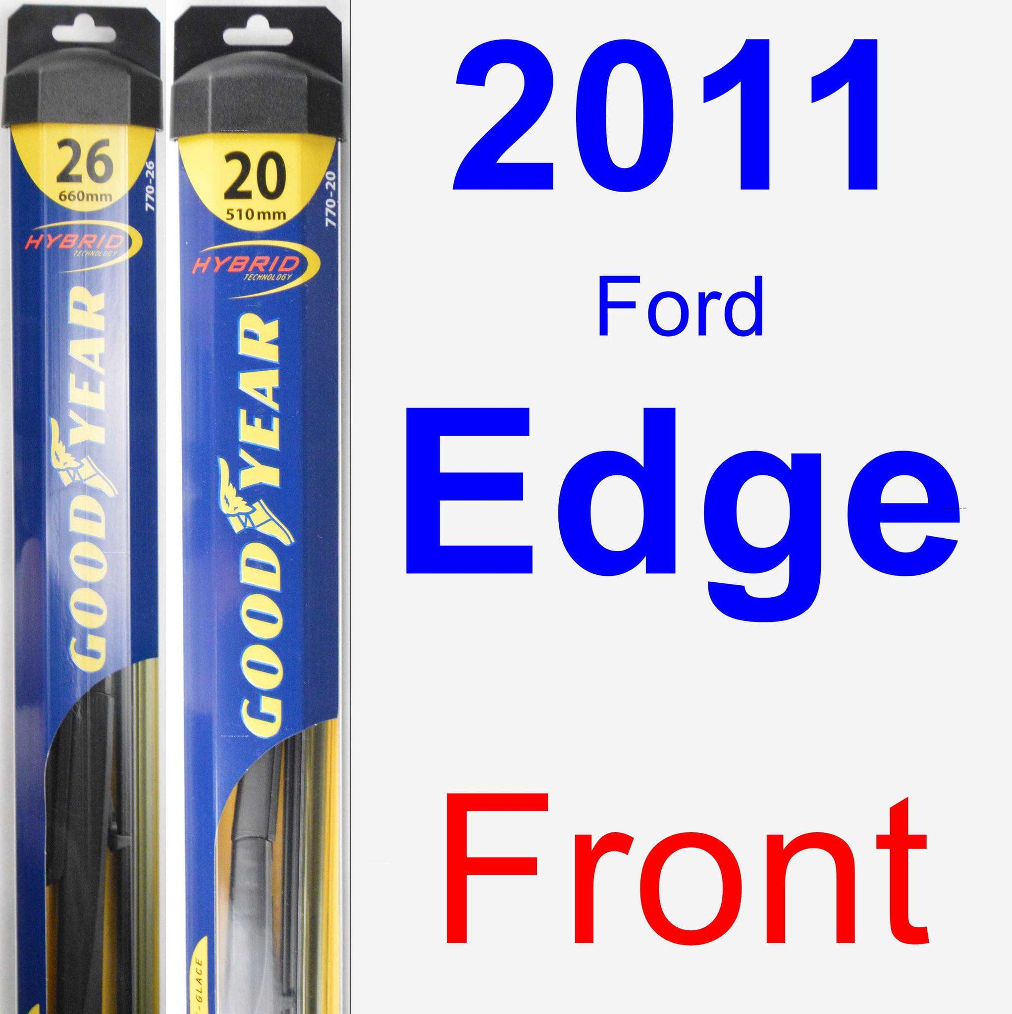 Ford Edge Wiper Blade Set Kit Front  Blades