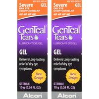 2 Pack - GenTeal Severe Dry Eye Relief Lubricant Eye Gel 10G each