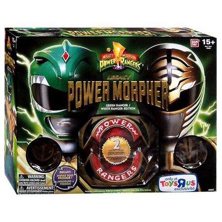 Power Rangers Legacy Green & White Ranger Power Morpher (Green Power Ranger Mask)