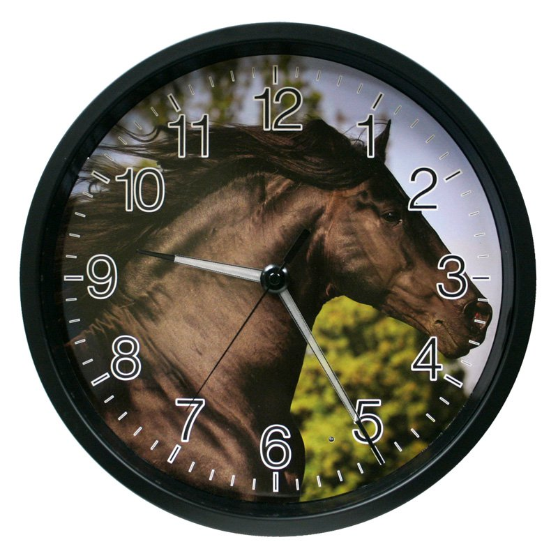 La Crosse Technology Lighted Hands Animal Clock