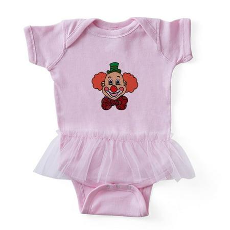 CafePress - Happy Face Clown - Cute Infant Baby Tutu - Clown Tutu