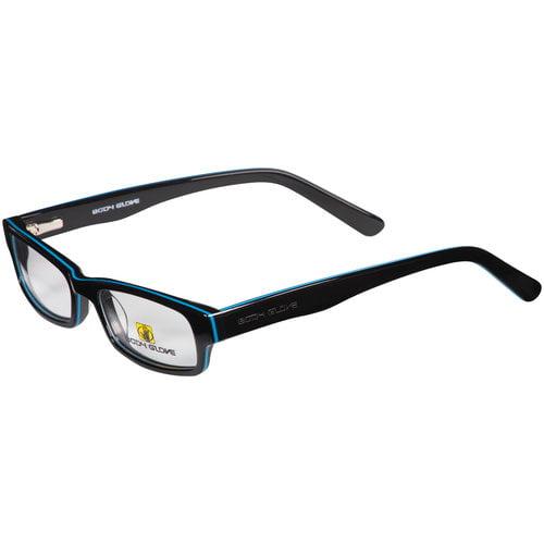 glove boys eyeglass frames black walmart