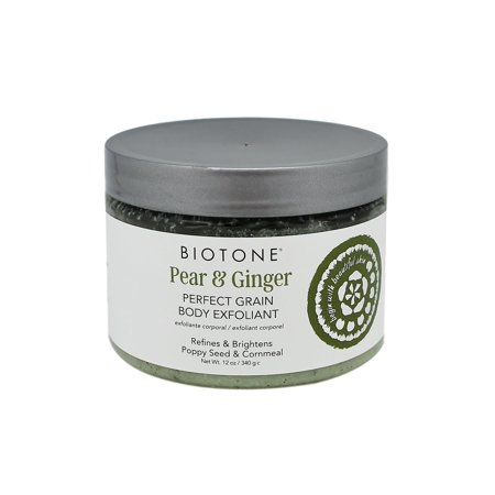 Biotone Pear & Ginger Perfect Grain Body Exfoliant, 12 oz.