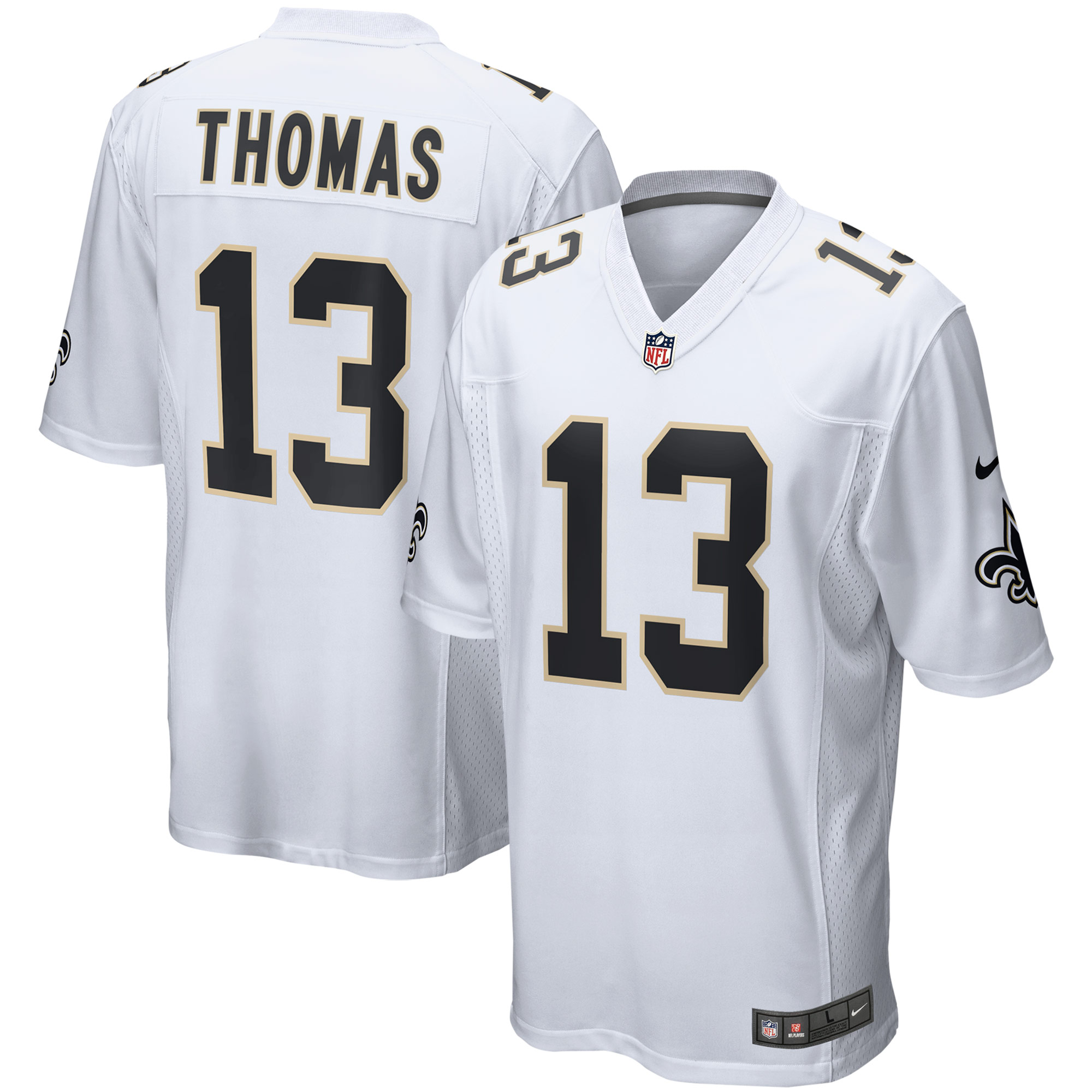 Michael Thomas New Orleans Saints Nike Event Game Jersey - White