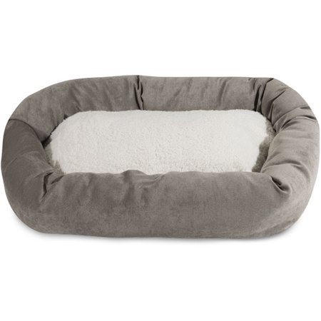 52-inch Villa Collection Sherpa Bagel Bed