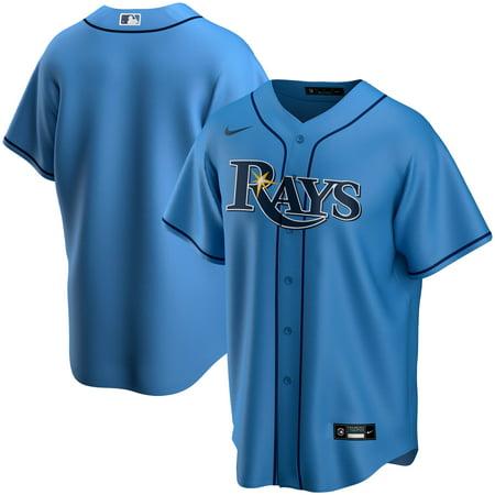 Tampa Bay Rays Nike Alternate 2020 Replica Team Jersey - Light Blue Mlb Replica Uniforms