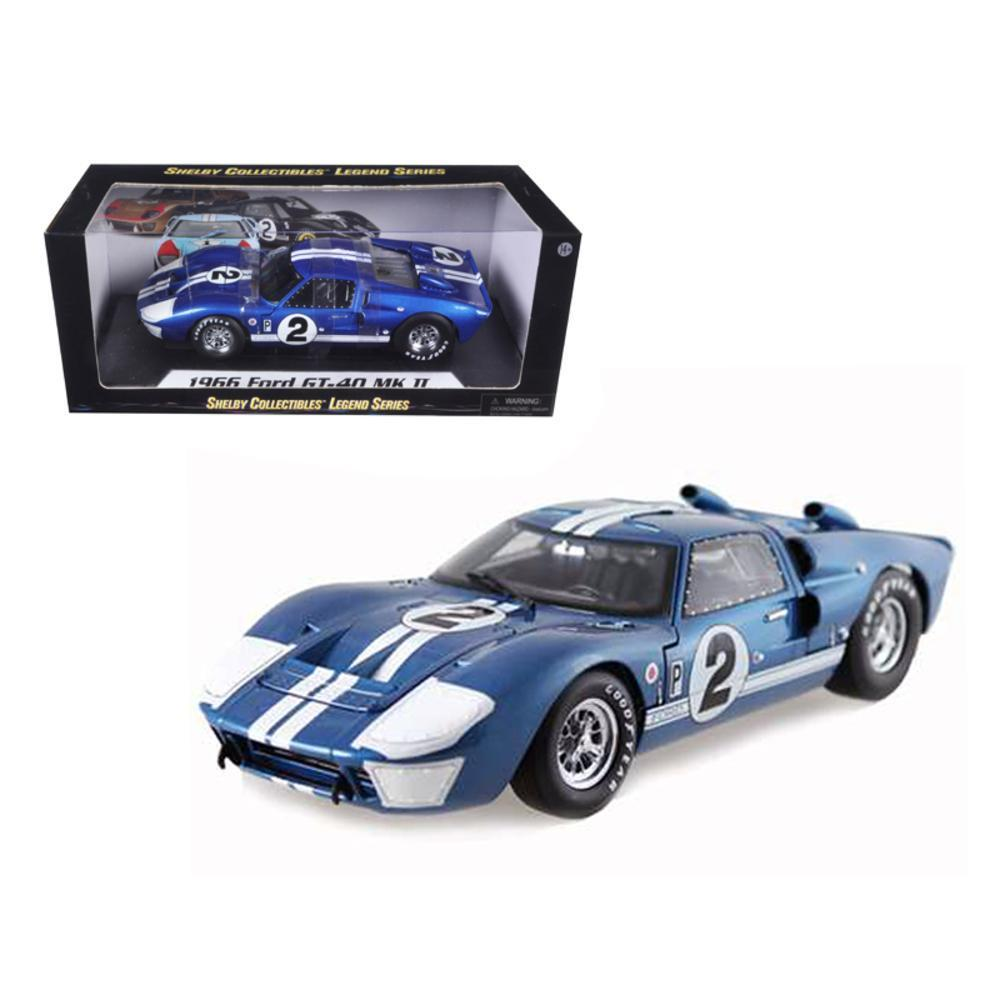 Ford Gt Mark Ii  Hours Of Sebring  Cast Car Model By Shelby Collectibles Walmart Com
