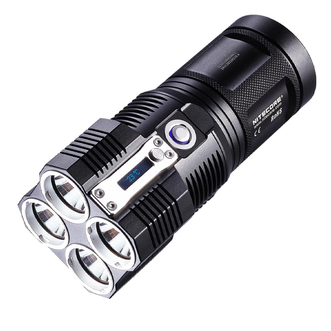 NITECORE TM26GT Tiny Monster 3500 Lumen QuadRay Flashlight