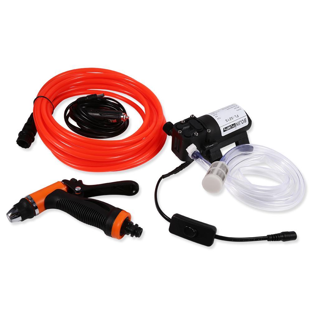 12V Car Pressure Washer Portable Pressure Cleaner Auto Washing Gun Wash Pump USA