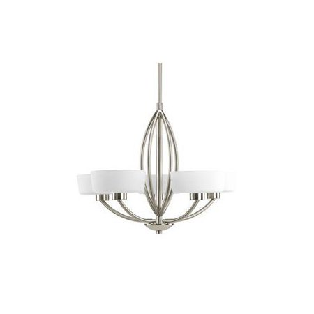 Progress Lighting P4539 09 Calven 5 Light Chandelier
