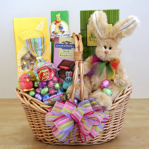 Easter Sweets and Treats Bunny Gift Basket