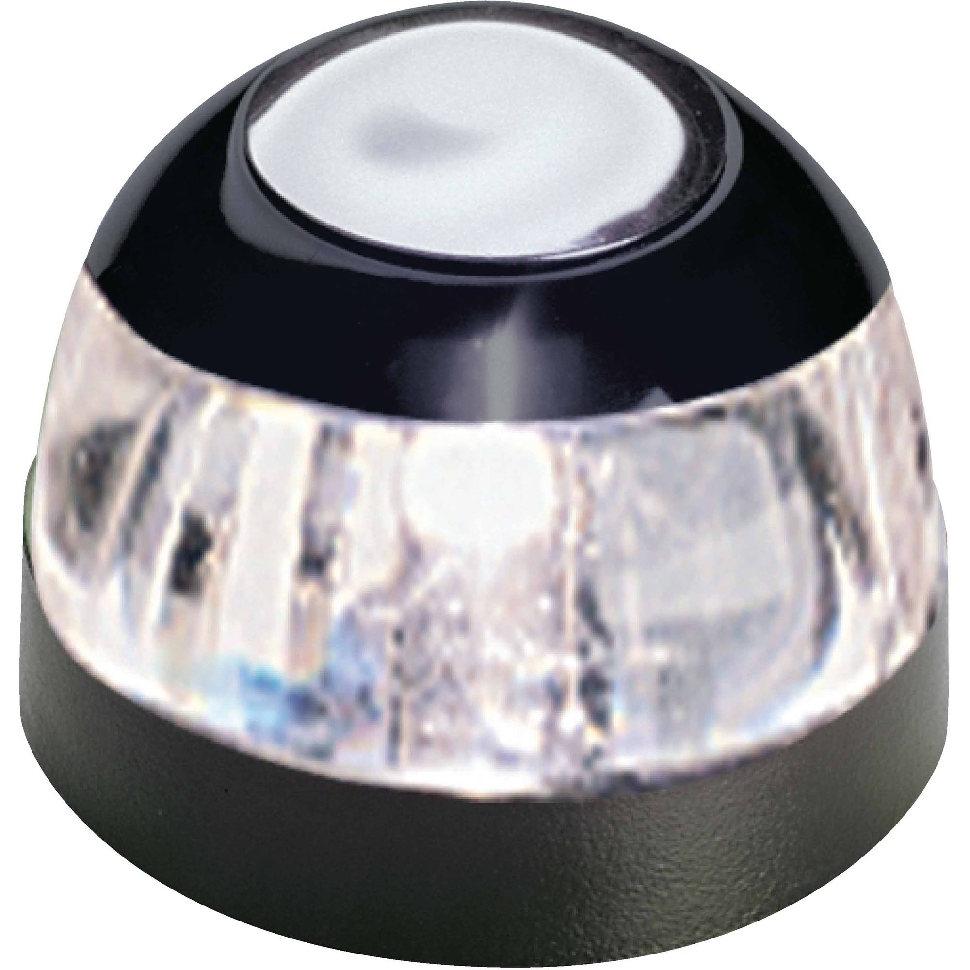 Aqua Signal 22000 Series 22 12V Navigation Light for Power Boats Up to 39', All-Round Deck Mount, Black