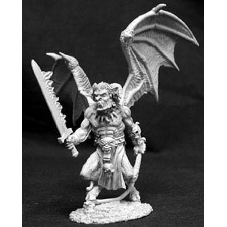 Reaper Miniatures Narglauth, Fire Demon #02654 Dark Heaven ...