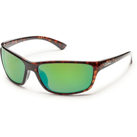 Suncloud Optics Sentry Polarized Sunglasses ( Tortoise / Green Mirror Polarized Polycarbonate (Suncloud King Sunglasses)