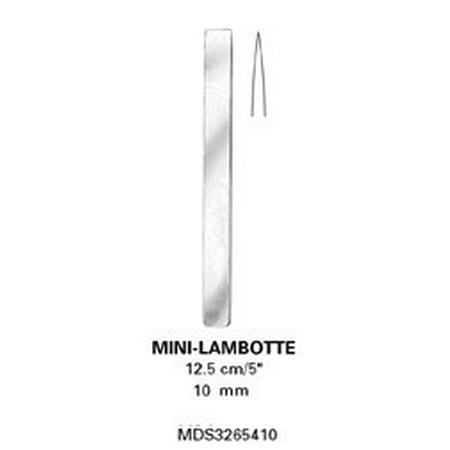 "[Itm] Straight, 5"", 13 cm, 6 mm [Acsry To]: Osteotomes, Mini Lambotte - Straight, 5"", 13 cm, 6 mm"