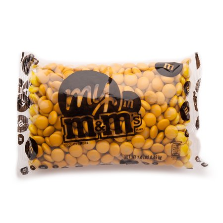 Gold M&M'S® Bulk Candy Bag (1lb) (Cup Of Gold Candy)