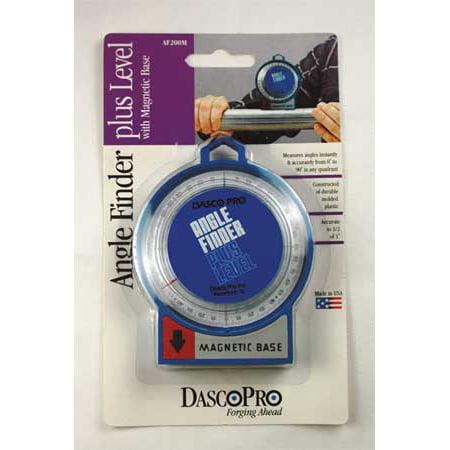 Dasco Pro Angle Finder, Magnetic, Blue, AF200M Blue Magnetic Level