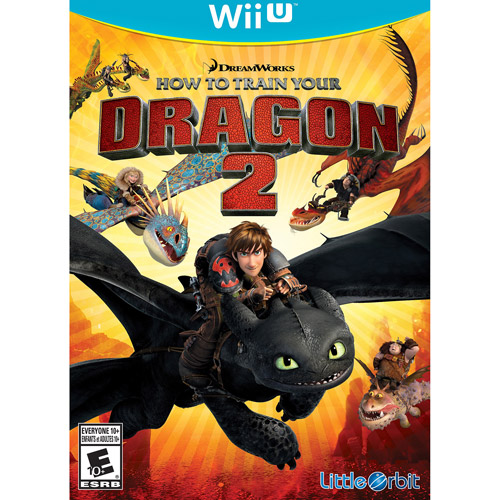 How to Train Your Dragon 2: The Video Game (Wii U)