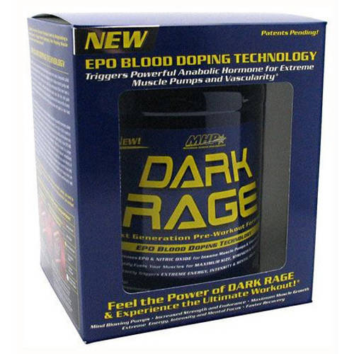 MHP  Dark Rage, Fruit Punch, 2 LB