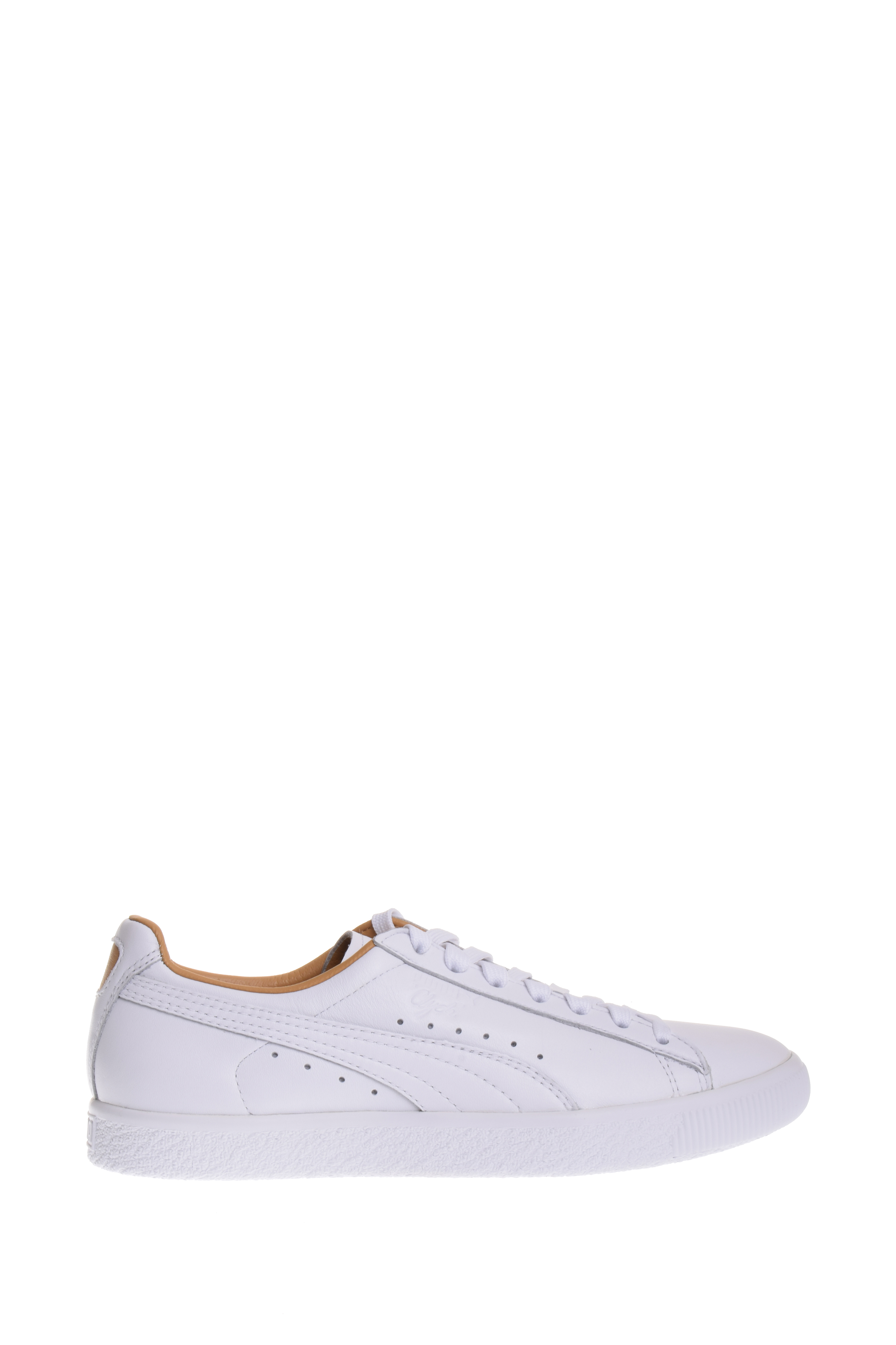 4e7840c074a PUMA - Puma Clyde Core Leather Women s Shoes Puma White Taffy 365876-02 (9 B(M)  US) - Walmart.com