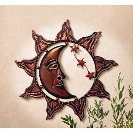 Sun Hanging Metal Decor (