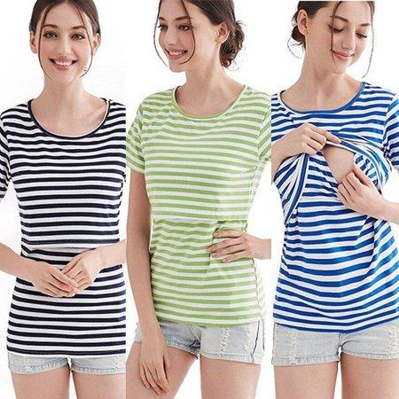 916688d479212 Honganda - Loose Maternity Clothes Breastfeeding T-Shirt Nursing Top For Pregnant  Women - Walmart.com