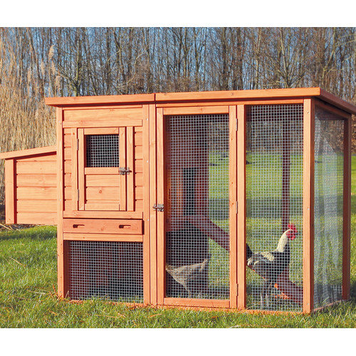 Trixie Pet Products Trixie Chicken Coop with Outdoor Run