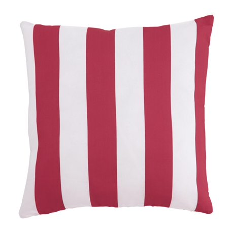 Throw Pillows Set Of 4 : Ashley Hutto Throw Pillow in Red and White (Set of 4)