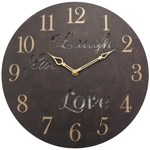 "Geneva Decor 12"" Wall Clocks, Laugh"