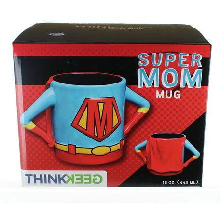 Superhero Mom 15oz Ceramic - Superhero Cups