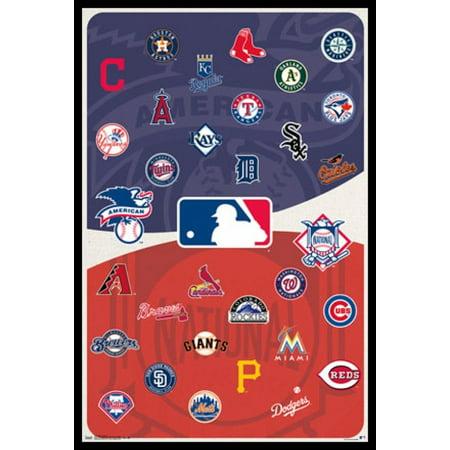 MLB Baseball - Logos 15 Poster Poster Print