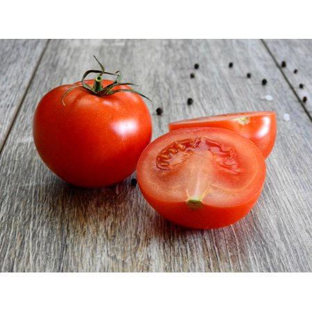 Homestead tomato -25 seeds -Heirloom vegetable gardening -Fruit Sets in Hot Weather- Classic Flavor- Productive -Great Slicer ()
