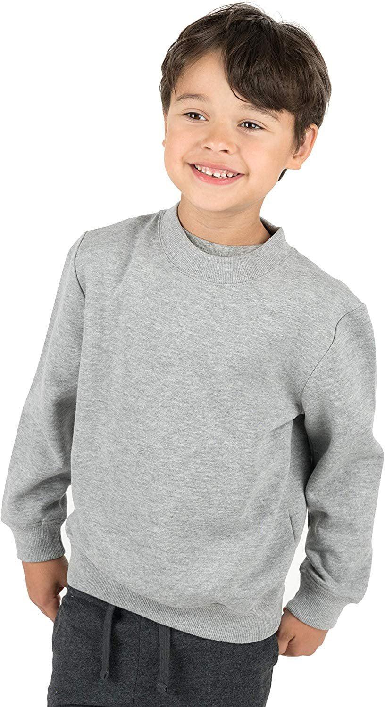 Baby Boys Long Sleeve Dinosaur Hoodies Kids Sweatshirt Toddler Zip-up Jacket 4T//5T Light Gray