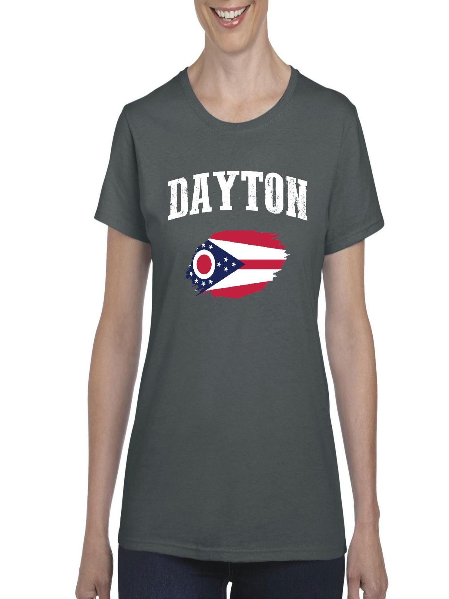 Normal Is Boring Dayton Ohio Women Shirts T Shirt Tee Walmart