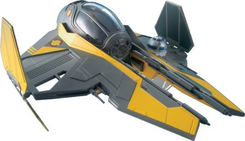 Anakin's Jedi Starfighter Plastic Spacecraft Model Building KitDetails included movable... by