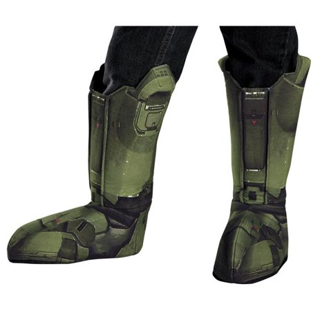 Morris Costumes DG89999AD Master Chief Boot Adult Covers