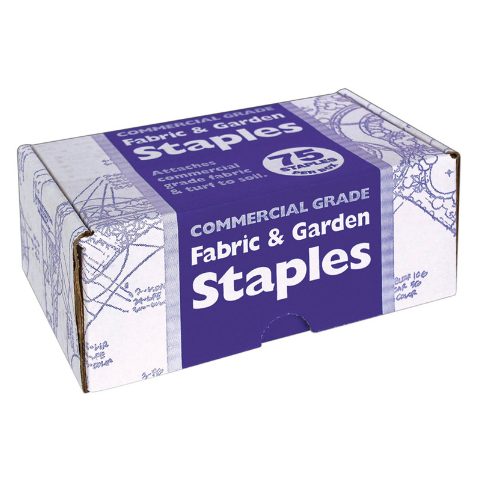 Easy Gardener 815 Fabric & Garden Staples 75 Count