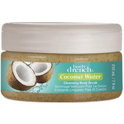 Body Drench Coconut Water Cleansing Body Scrub 7 oz (Pack of 2)