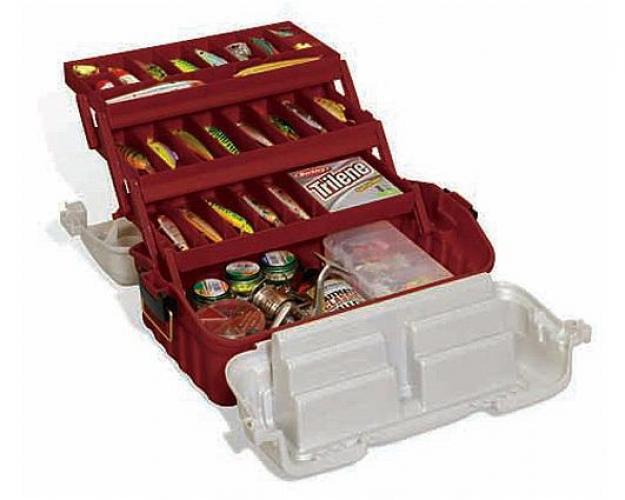 Plano Fishing Flipsider Three Tray Tackle Box Storage System by Plano Molding Company